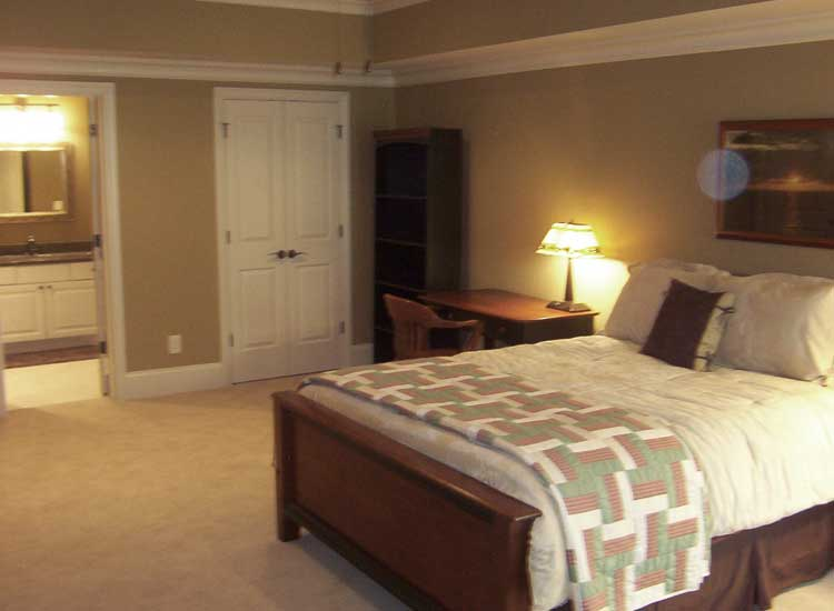 Bedroom Suite Basement Finishing Marietta